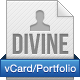 Divine - vCard/Portfolio - With AJAX Contact Form Nulled