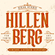 Hillenberg - Vintage Layered Typeface - GraphicRiver Item for Sale