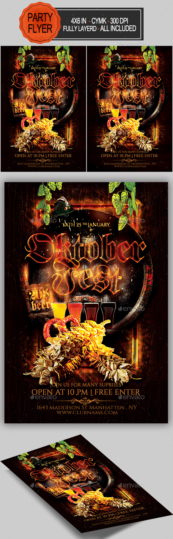 GraphicRiver Oktoberfest Flyer 20530821