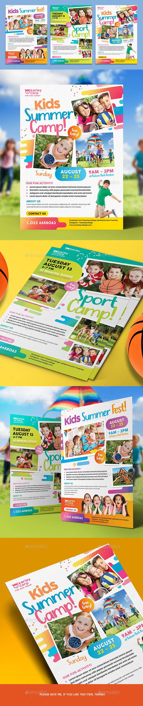Kids Activities Flyer - Corporate Flyers