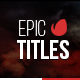Epic Titles For Final Cut Pro X