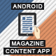 Magazine Content App With CMS - Android [ AdMob & Push Notifications ]