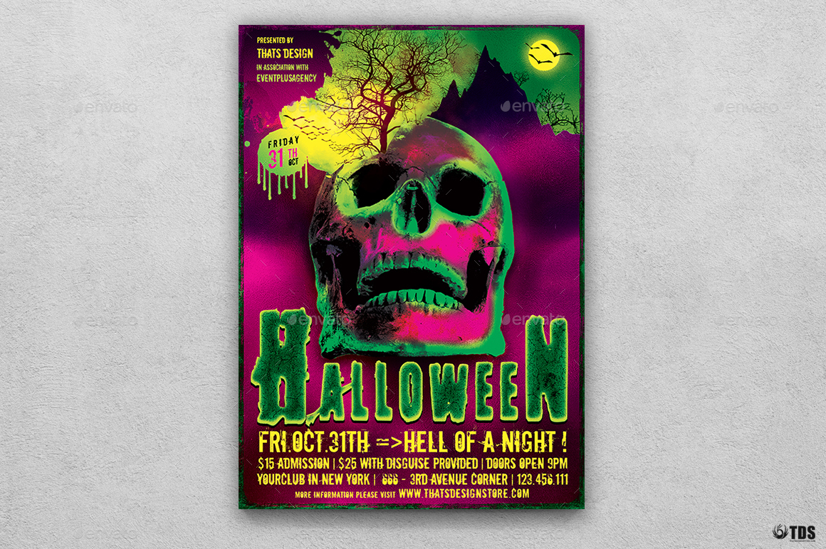 Halloween Flyer Template V14 by lou606 | GraphicRiver