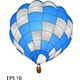 Hot Air Balloon Vector Illustration. - GraphicRiver Item for Sale