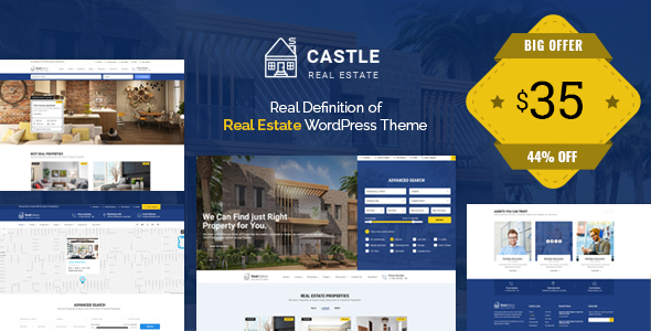 Image of Castle - Real Estate WordPress Theme