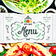 City Cafe Menu Template vol.1 - GraphicRiver Item for Sale