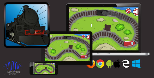TrainGenerationVS - HTML5 Train Race Game - CodeCanyon Item for Sale