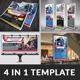 Automobile Print Template Bundle