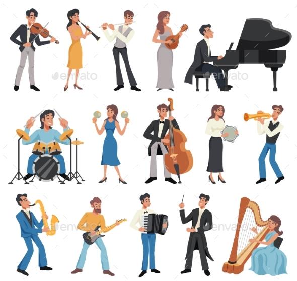 Musician Icon Set - Miscellaneous Vectors