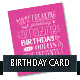 Birthday Card Template - GraphicRiver Item for Sale