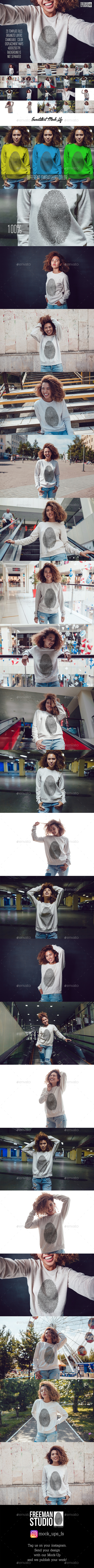 GraphicRiver Sweatshirt Mock-Up Vol.8 2017 20532386