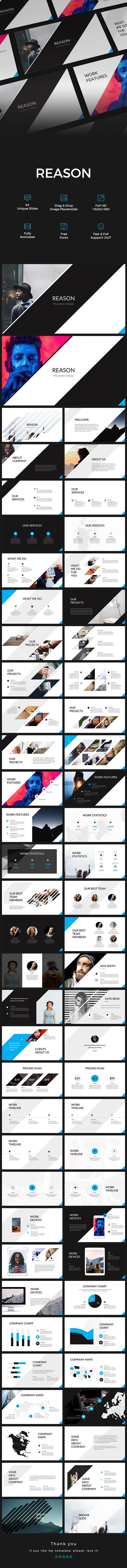 Reason PowerPoint Presentation - PowerPoint Templates Presentation Templates