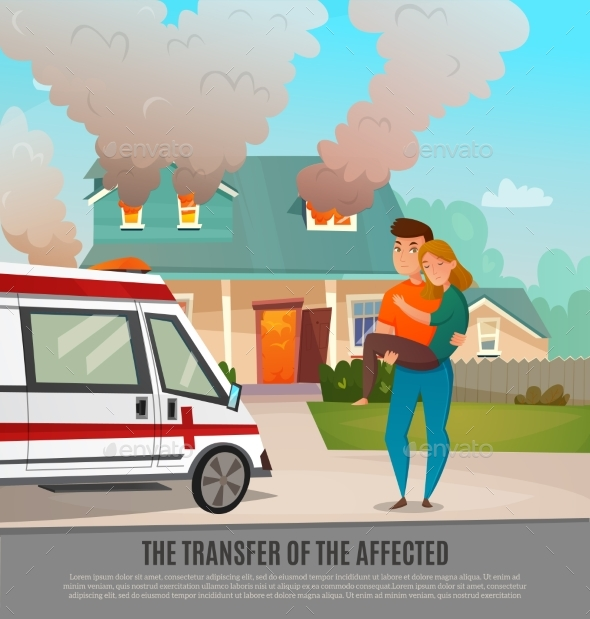 GraphicRiver Emergency First Aid People Poster 20532585