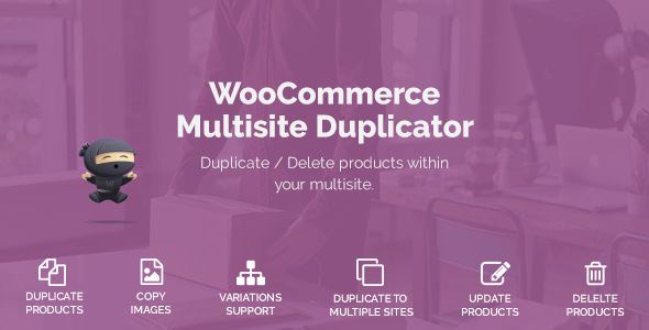 WooCommerce Multisite Duplicator - CodeCanyon Item for Sale