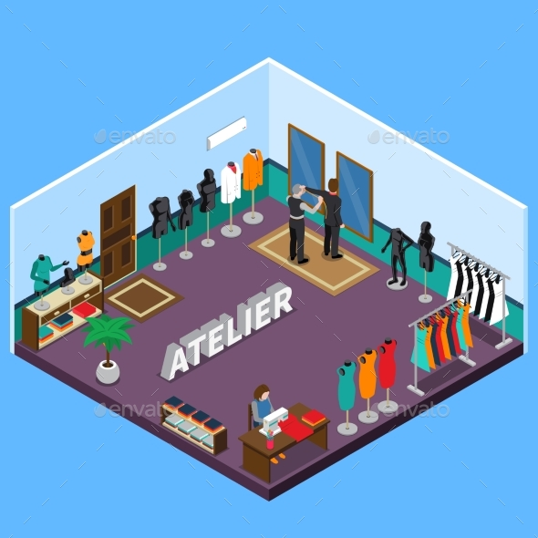 Atelier Isometric Design - Man-made Objects Objects