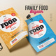 Family Food Bazaar Flyers - GraphicRiver Item for Sale