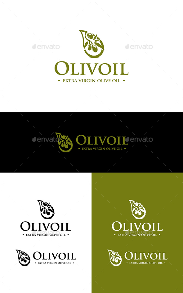 Olive Oil - Nature Logo Templates