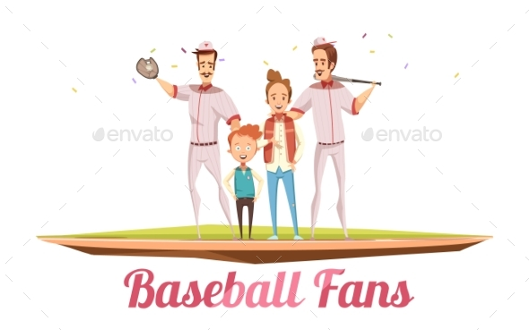 Baseball Fans Design Concept - Sports/Activity Conceptual