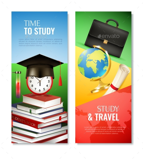 GraphicRiver School Vertical Banners 20533229