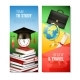 School Vertical Banners