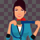 Flight Attendant 2D Animation Pack - VideoHive Item for Sale