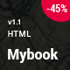 Mybook - Responsive Bootstrap Book Landing Page - ThemeForest Item for Sale