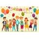 Kids Party Composition