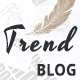 TrendBlog - Creative, Vintage & Elegant Blog WordPress Theme