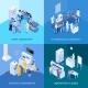 Laboratory Isometric Design Concept