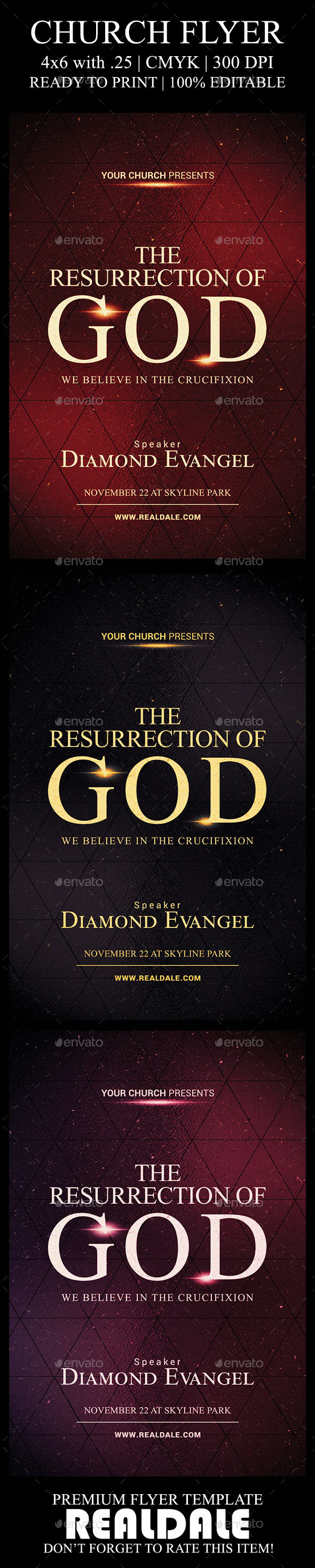 GraphicRiver The Resurrection of God 20534232