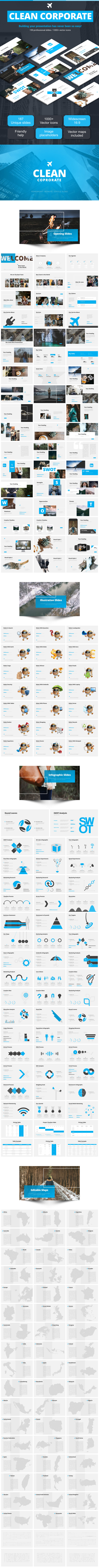 Clean Corporate - Google Slides Presentation Templates