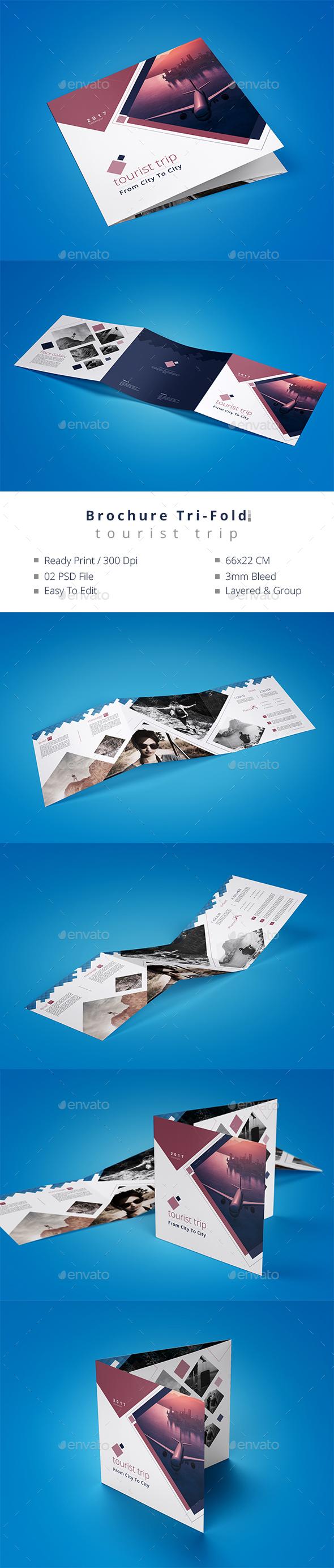 GraphicRiver Brochure Tri-Fold Tourist Trip 20509997