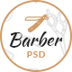 Barber - Hair Salon Bootstrap PSD Template