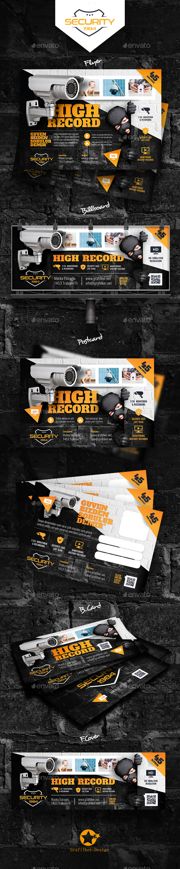 GraphicRiver Security Systems Bundle Templates 20535008