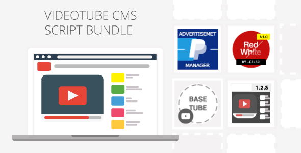 Videotube Cms Script Pack By Celso Codecanyon