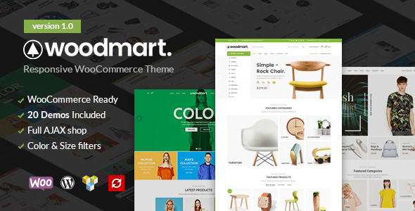 ThemeForest WoodMart Responsive WooCommerce WordPress Theme 20264492