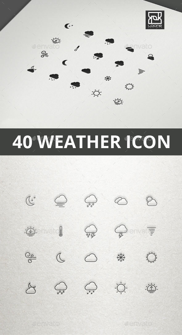 GraphicRiver Weather Icon 20535287