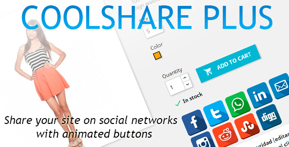 CoolShare Plus Prestashop Social Networks Module