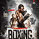 Boxing Night Flyer Template - GraphicRiver Item for Sale