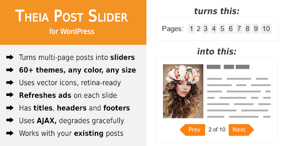 Theia Post Slider for WordPress