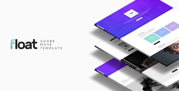 ThemeForest Float Multipurpose Muse template 20535875