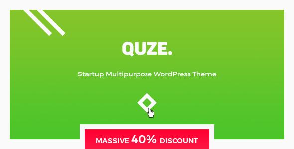 QUZE - Startup WP Theme