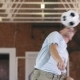 Young Man Practices with Soccer Ball - VideoHive Item for Sale
