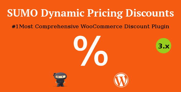 SUMO Dynamic Pricing Discounts - WooCommerce Discount System - CodeCanyon Item for Sale