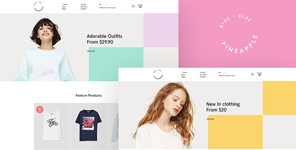 Image of Pineapple - Minimal WooCommerce WordPress Theme