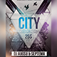 City Distortion Flyer - GraphicRiver Item for Sale