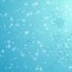 Blue Falling Snowflakes Christmas Winter