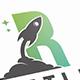 Rocket Letter R Logotype