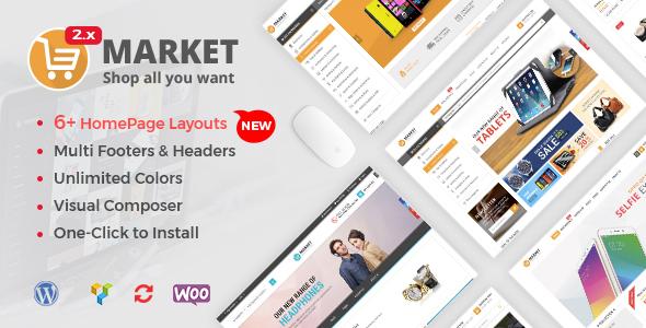 Market - Shopping WooCommerce WordPress Theme - WooCommerce eCommerce