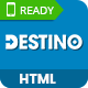Destino - Responsive & Multi-Purpose HTML5 Template - ThemeForest Item for Sale